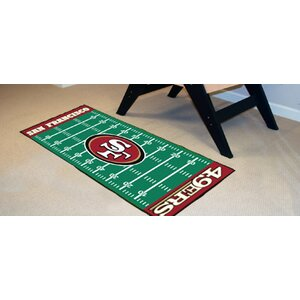 NFL - San Francisco 49ers Football Field Runner