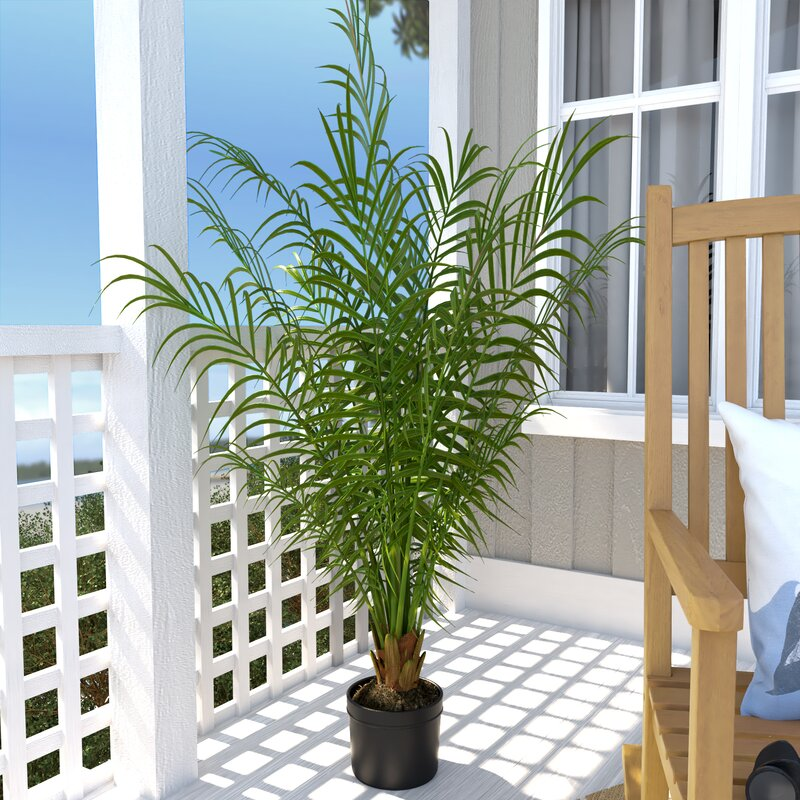 Silk Areca Palm Tree In Pot Part 93