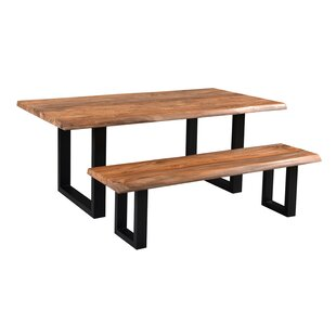 Brasher Wood Dining Bench