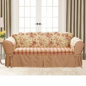 Sure Fit Lexington T-Cushion Sofa Slipcover Image