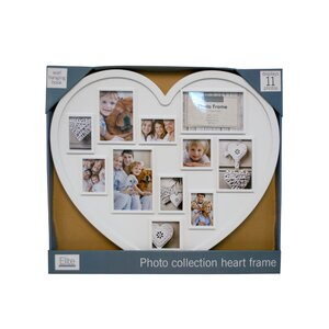 Photo Collection Heart Picture Frame
