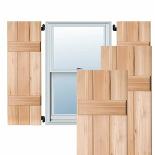 Board & Batten Shutters You\'ll Love | Wayfair
