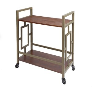 Melanson Bar Cart by Alcott Hill