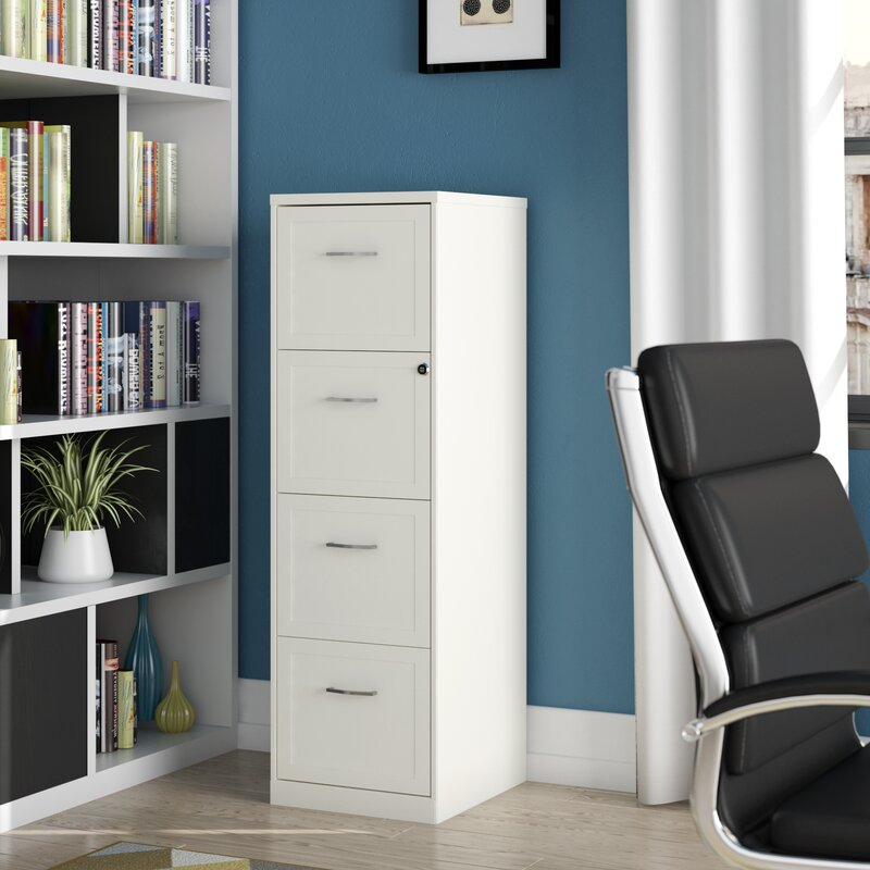 Ebern Designs Cavitt 4 Drawer Vertical Filing Cabinet ...