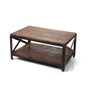 Crossroads Coffee Table by Ironwood