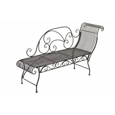 gartenb nke aus metall armlehnen mit armlehnen. Black Bedroom Furniture Sets. Home Design Ideas