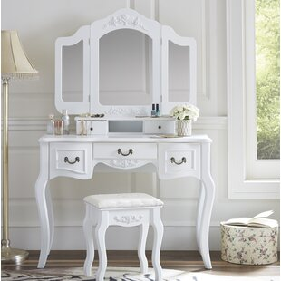 White Vanity Tables Youu0027ll Love   Wayfair