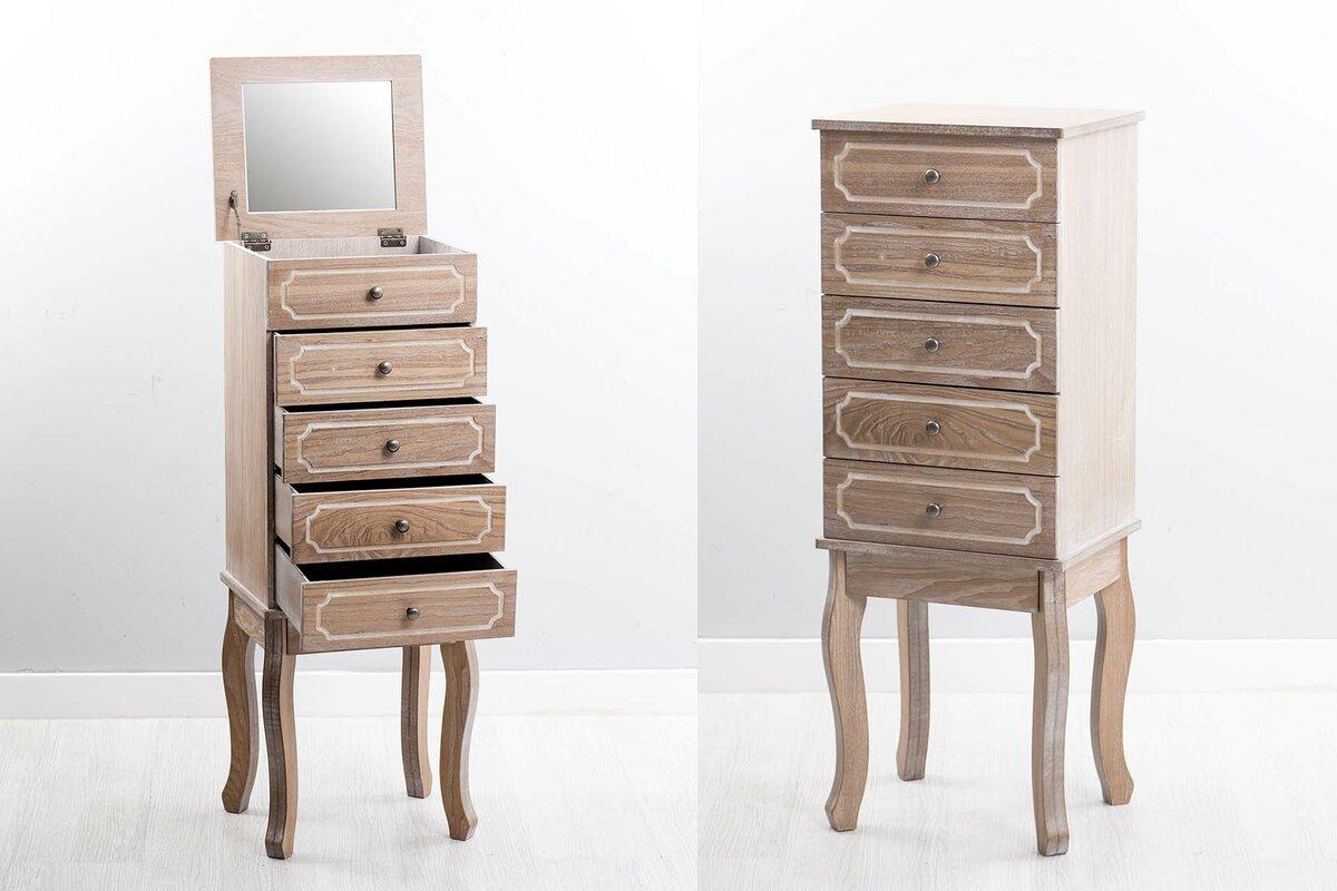 garpe interiores schmuckschrank mit spiegel bewertungen. Black Bedroom Furniture Sets. Home Design Ideas