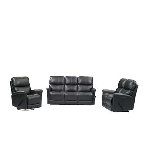 Ross 3 Piece Living Room Set by Red Barrel Studio