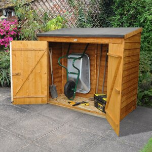 6 Ft W X 2 5 Ft D Wooden Lean To Shed