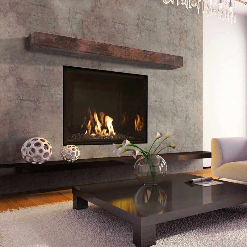 Rusticahardware Smith Fireplace Mantel Shelf Amp Reviews