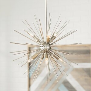 Antonie 7-Light Geometric Pendant