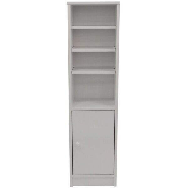 House additions 28 5 x 109cm free standing tall bathroom cabinet reviews for Tall bathroom cupboards freestanding