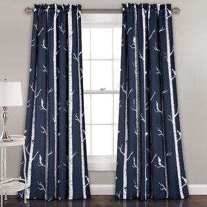 Mendon Thermal Room Darkening Curtain Panels (Set Of 2)