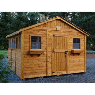 Good D Wooden Storage Shed