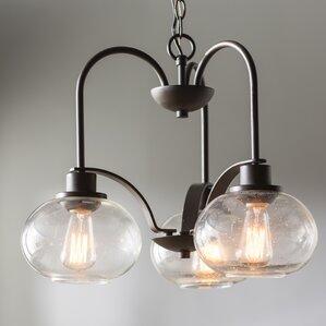 braxton 3light mini chandelier