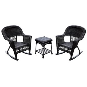 Exceptional Burtch Wicker Rocking Chairs (Set Of 2)