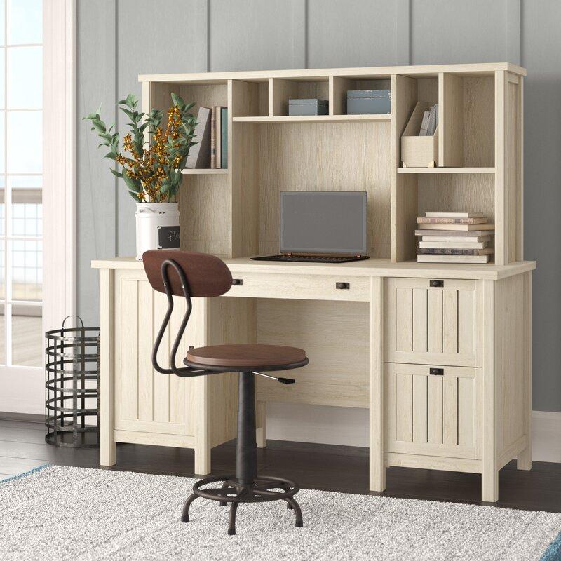 White Writing Desk For Heat Surroundings