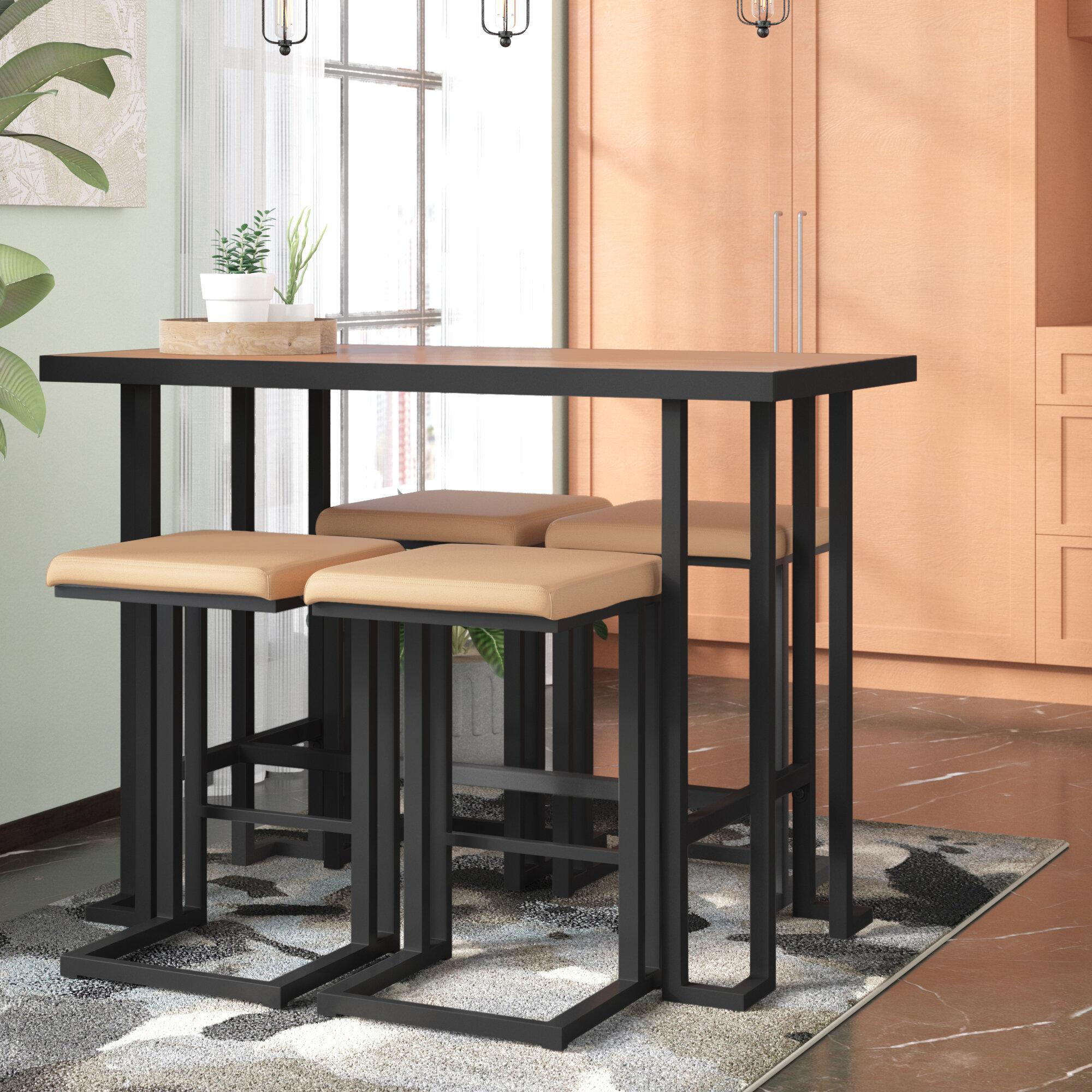 Excellent Calistoga 5 Piece Counter Height Dining Set Machost Co Dining Chair Design Ideas Machostcouk