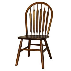 Hollingsworth Classic Arrowback Solid Wood Dining Chair (Set of 4) by Alcott Hill