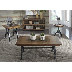 Komi 4 Piece Coffee Table Set