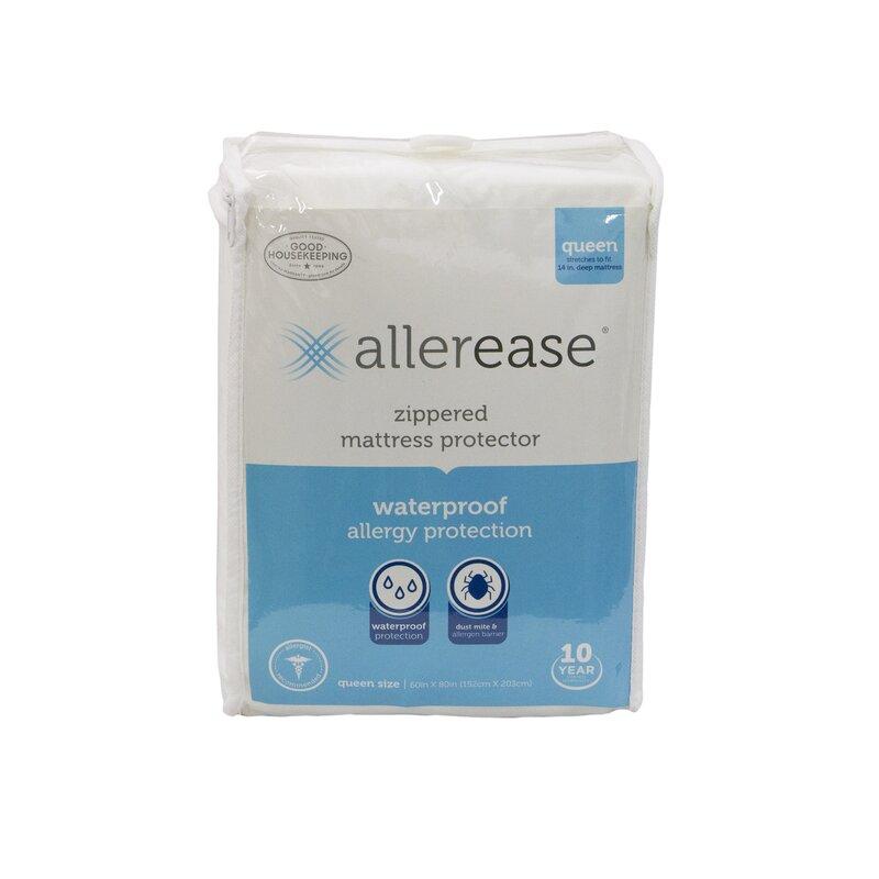 Allerease Allergy Zippered Hypoallergenic Waterproof