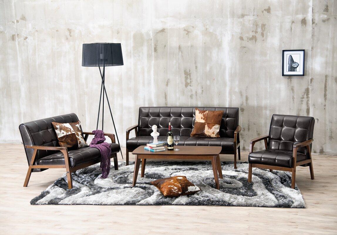 Latitude Run Calla 3 Piece Living Room Set & Reviews | Wayfair