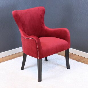 Maroon Wingback Chair | Wayfair