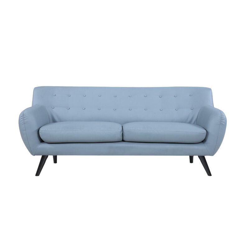 Madison Home USA Mid Century Modern Tufted Sofa & Reviews   Wayfair