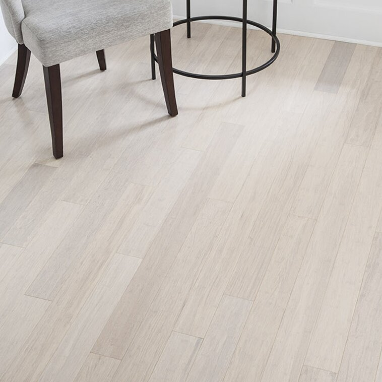 """Installing 5 8 Inch Bamboo Flooring: 3-5/8"""" Solid Bamboo Flooring In White & Reviews"""