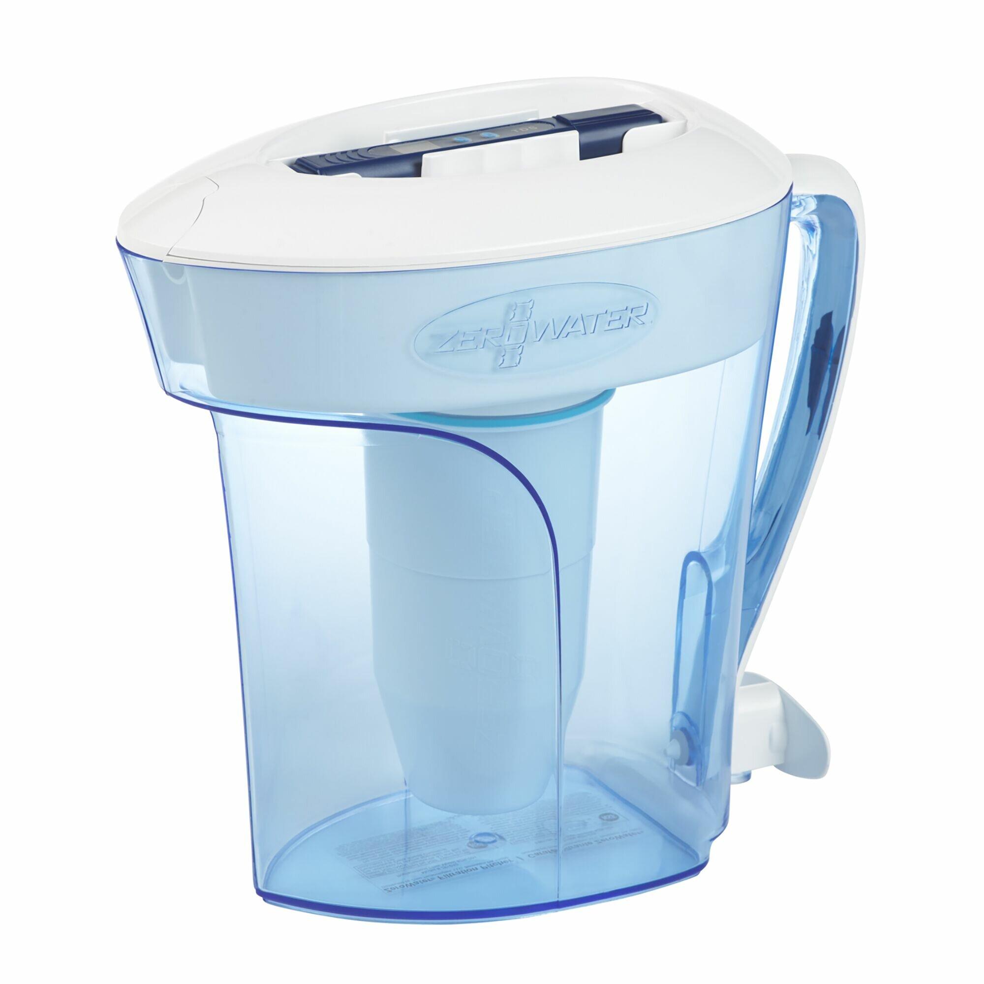 ZeroWater 10-Cup Water filtration pitcher   Wayfair