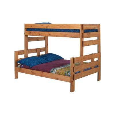 Bartlow Stackable Twin Over Full Bunk Bed Harriet Bee Bed Frame Color: Ginger