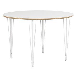 Hairpin leg table wayfair fusion round hairpin leg dining table watchthetrailerfo
