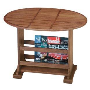 Genial Drop Leaf Oval Coffee Table