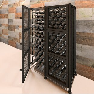 Locker 96 Bottle Floor Wine Rack