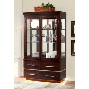 Fallsburg Lighted Curio Cabinet