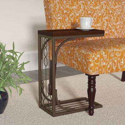 slide under sofa tray table wayfair. Black Bedroom Furniture Sets. Home Design Ideas