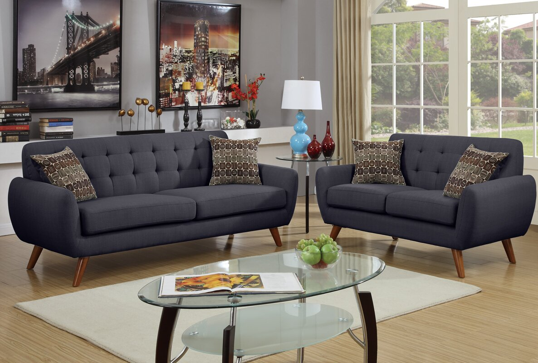 Superbe Wooten 2 Piece Living Room Set
