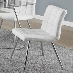 Lettunich Upholstered Dining Chair (Set of 2)