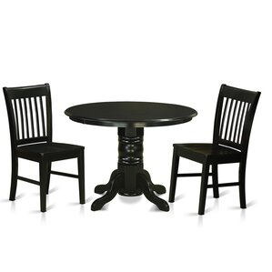 Shelton 3 Piece Dining Set by East West F..