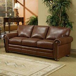 Savannah Leather Sleeper Sofa Part 50