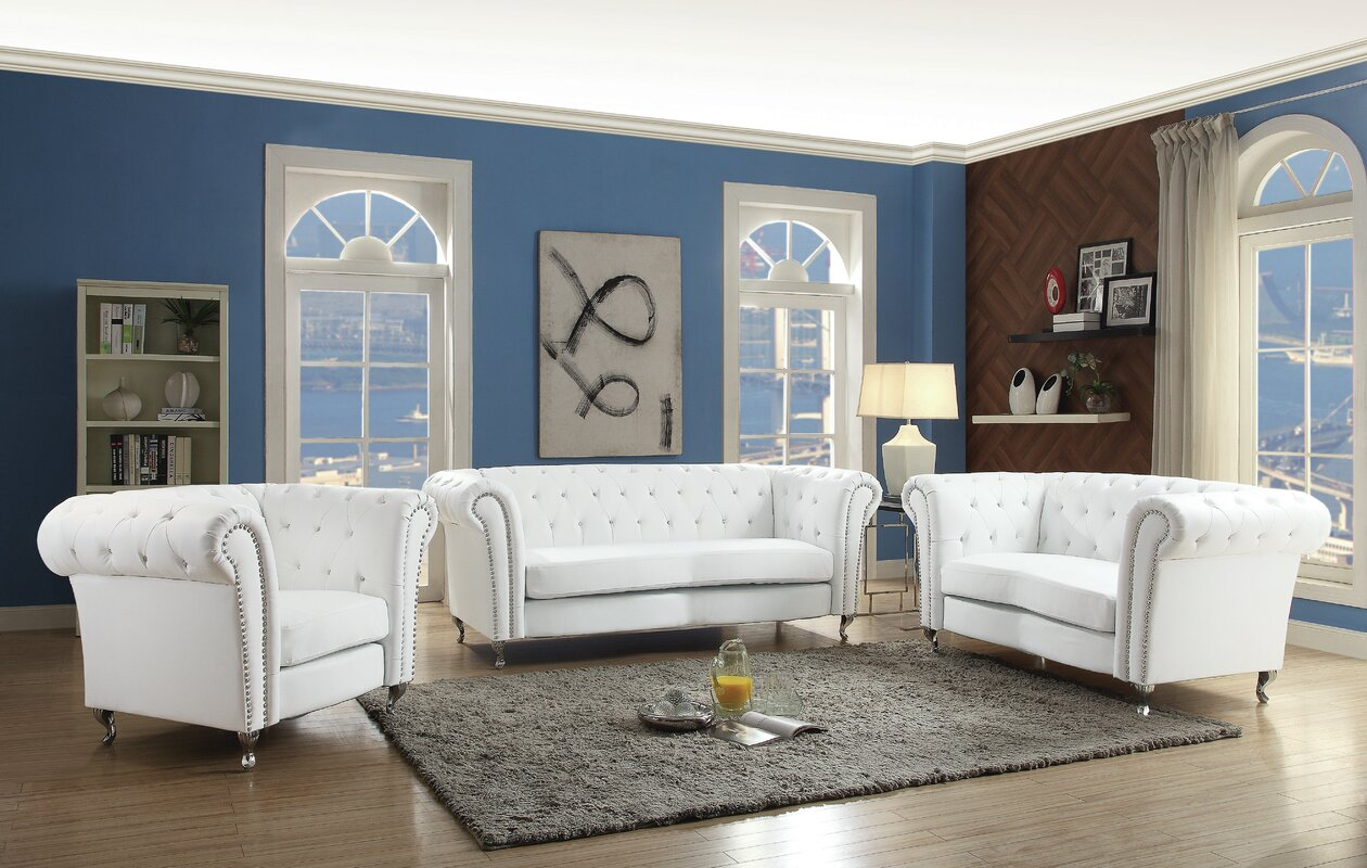 Willa Arlo Interiors Renhold Configurable Living Room Set Reviews
