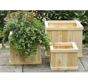 Cedar Flower Boxes Wayfair