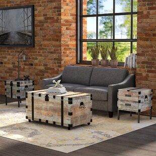 Rigina 3 Piece Coffee Table Set