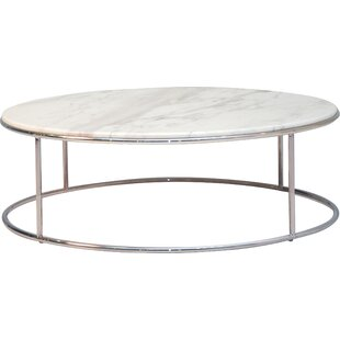 White Marble Coffee Table.Marble Round Coffee Tables You Ll Love In 2019 Wayfair