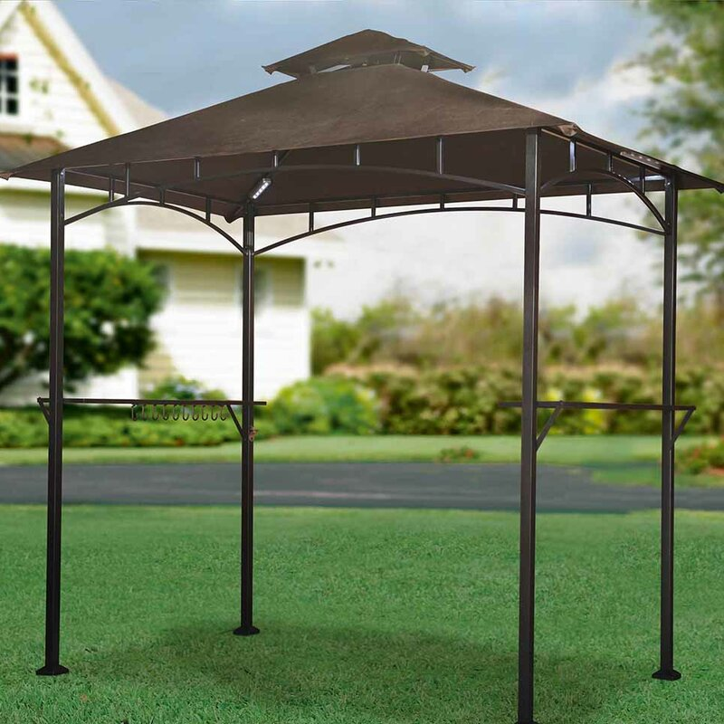 Replacement Canopy For Led Lighted Grill Gazebo