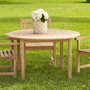 Summerton Teak Round Dining TableTeak Patio Furniture You ll Love   Wayfair. Teak Wooden Outdoor Furniture. Home Design Ideas