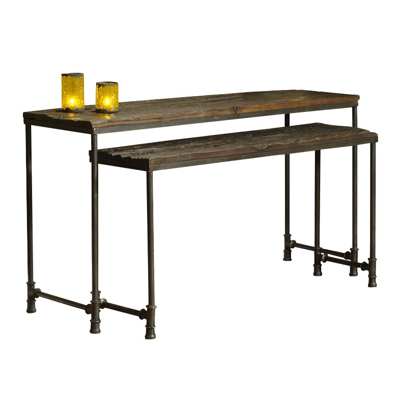 William sheppee saal 2 piece nesting console table set reviews saal 2 piece nesting console table set watchthetrailerfo