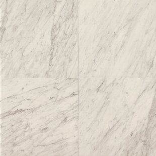 24 X Marble Field Tile In White Carrara