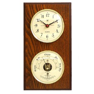 Outdoor Clock And Thermometer Wayfair